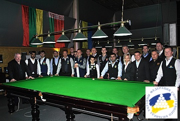 BALTIC SNOOKER LEAGUE 2018 - STAGE 4 KYIV 37