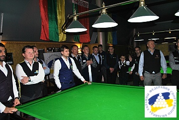 BALTIC SNOOKER LEAGUE 2018 - STAGE 4 KYIV 27