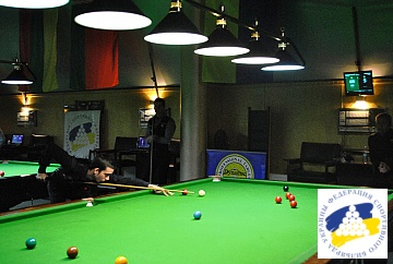 BALTIC SNOOKER LEAGUE 2018 - STAGE 4 KYIV