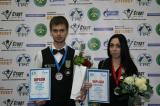 Абсолютные чемпионы мира по пирамиде 2015 года: Никита Ливада и Диана Миронова. У Артура Пивченко и Марии Пудовкиной - бронза.