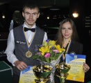 Жанна Шматченко и Владимир Перкун стали чемпионами Украины по свободной пирамиде.