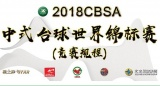 2018 Chinese Pool International Open Championship